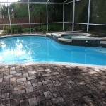 Pool Deck and Enclosure Cleaning