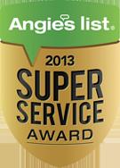 Angies List Super Service Award 2013 Orlando