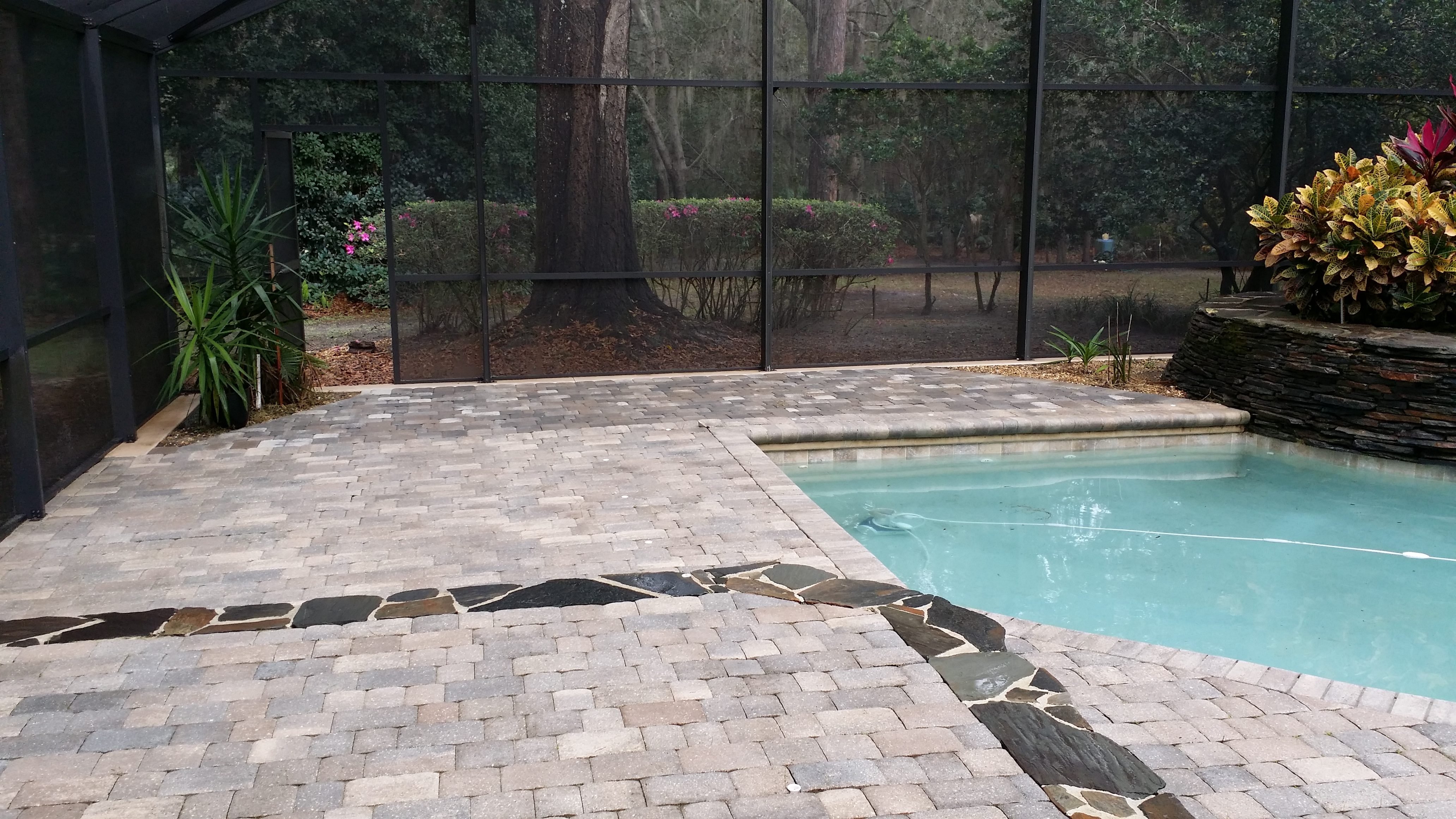 Pool Deck Amp Enclosure Cleaning 3lm Roof Cleaning Orlando
