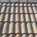 Roof Tile Cleaning Before